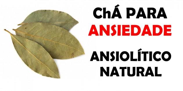 CHÁ PARA ANSIEDADE - ANSIOLÍTICO NATURAL