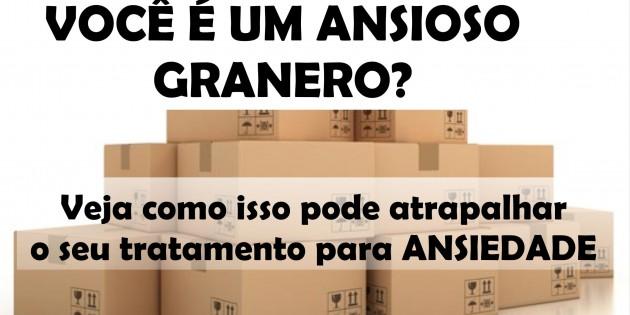 ANIOSO GRANERO E A CURA DA ANSIEDADE