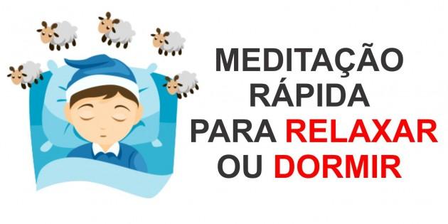 Meditação guiada Rápida Para Dormir e Relaxar 2